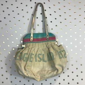 Anthropologie Miss Albright Cloth Handbag
